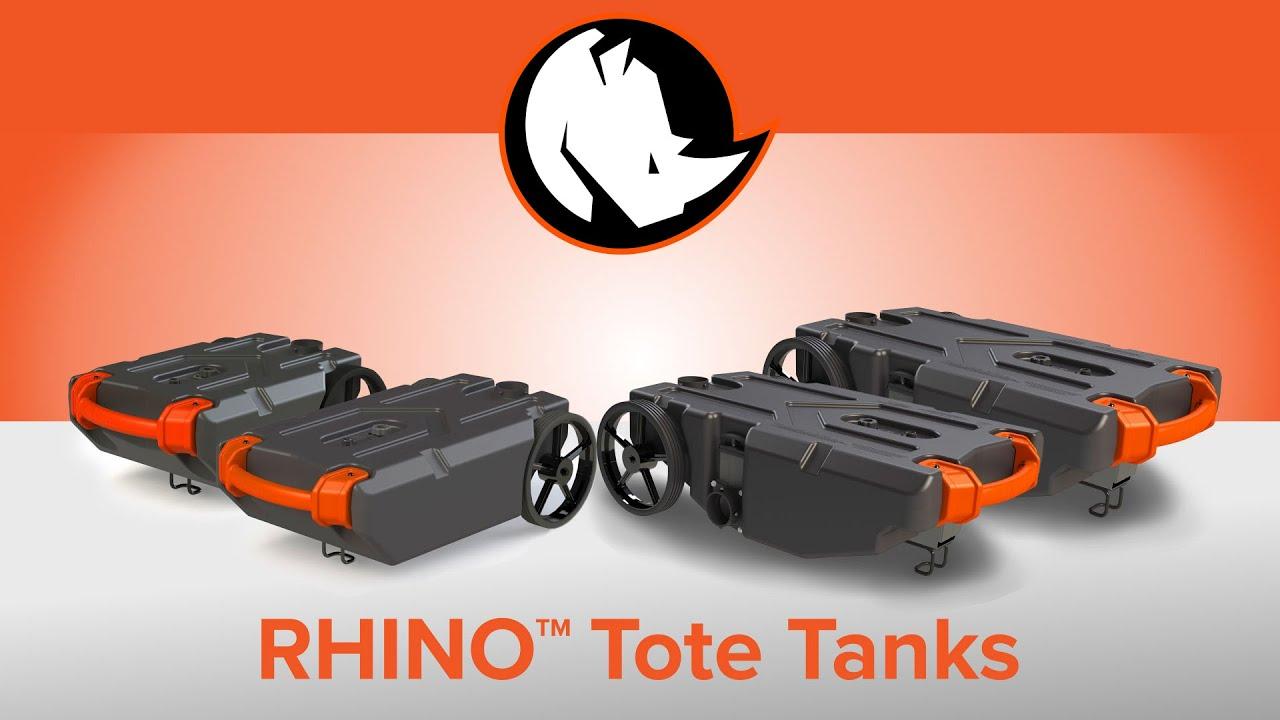 Rhino Tote Tanks Youtube