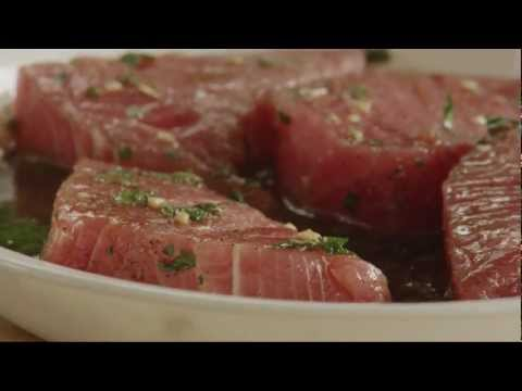 How To Make Easy Grilled Tuna Steaks | Tuna Recipe | Allrecipes.com