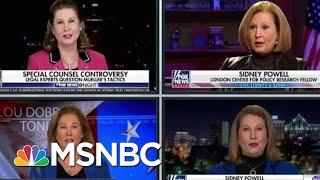 Michael Flynn Signals Pardon Hail Mary With New Mueller-Bashing Lawyer | Rachel Maddow | MSNBC
