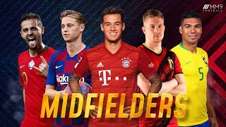 Top 10 Midfielders in Football 2020 ● HD