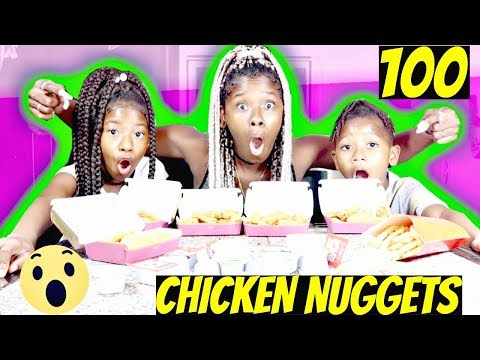 MCDONALD'S 100 CHICKEN NUGGET CHALLENGE/MUKBANG‼️ (COMPLETED OR NOT❓) 🙅🏽| LACY'S FILES