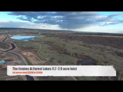 Drone Flyover of Forest Lakes Community in Monument, Colorado