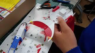 AK플라자 문화센터 구로점 프라모델 에어브러시 수업 수강생 임목기님이 아카데미에서 신금형으로 출시해준 독수리오형제 사령선 갓피닉스를...