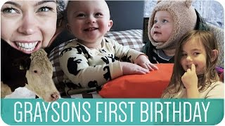 GRAYSONS FIRST BIRTHDAY | HANNAH MAGGS Thumbnail