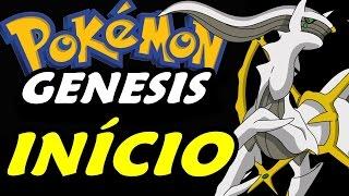 Pokémon Genesis (Hack Rom) - O Início