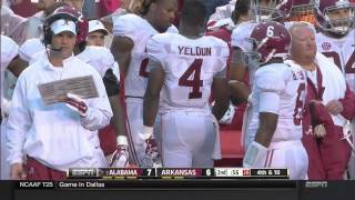 2014 #7 Alabama vs. Arkansas (HD)