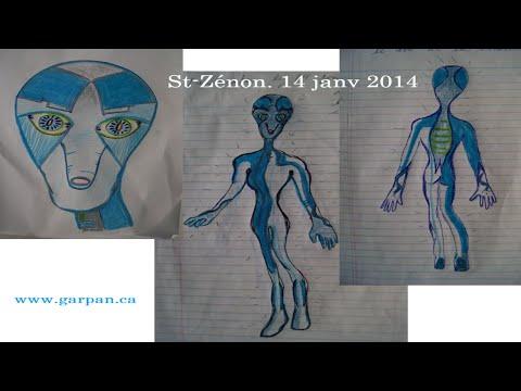L'affaire de St Zénon, une rencontre du 3ème type?