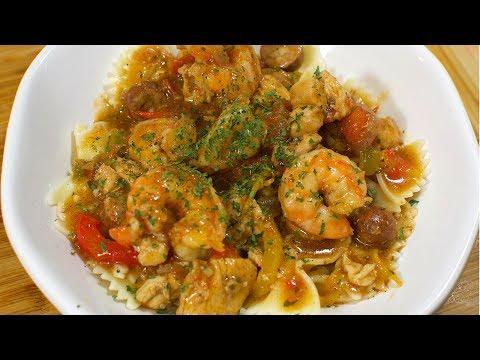 How To Make Cajun Chicken & Shrimp Jambalaya    Cooking With Confidence
