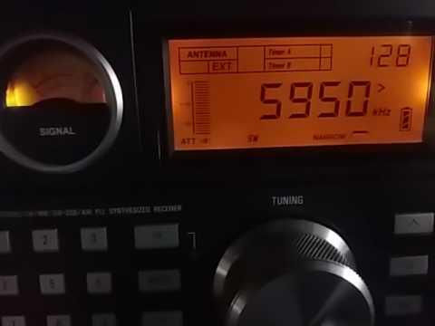 Voice of Tigray Revolution, Addis-Abeba ETHIOPIA - 5950 kHz