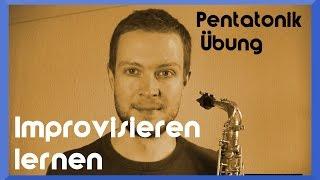 Pentatonik lernen auf dem Saxophon #3: Die zweite Grundübung – Video: Saxophon Improvisation lernen