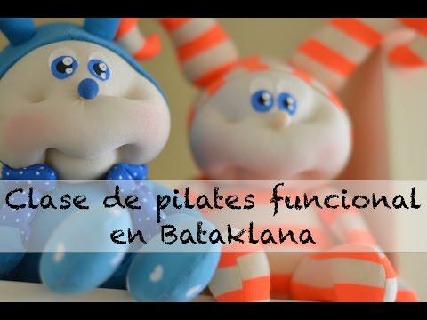 Clase de pilates funcional en Bataklana