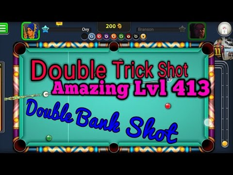 8 Ball Pool /Number 1 in The Country●Trick Shot  Double Bank shot Amazing 😎😎😃😅