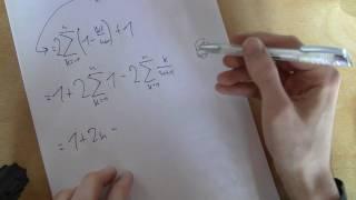 Mathematik - Rechnen mit Summen - Teil 1
