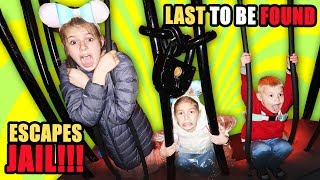 Last to be found ESCAPES Jail And WINS!!