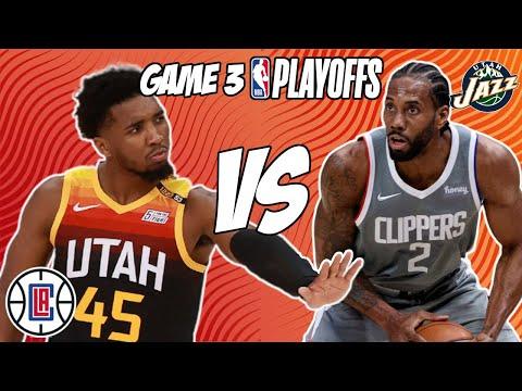 Los Angeles Clippers vs Utah Jazz Game 3 6/12/21 NBA Playoff Free NBA Pick & Prediction