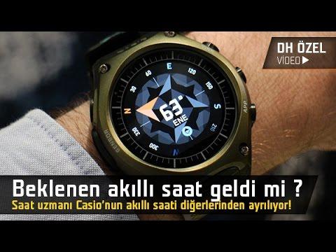 Özlemini çektiğimiz akıllı saat geldi mi? Casio