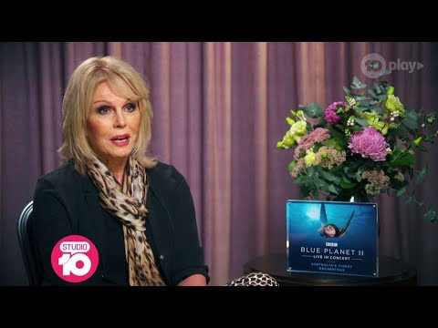Joanna Lumley Teams Up With David Attenborough For The Planet | Studio 10