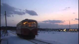 南部縦貫鉄道 盛田牧場前-七戸 レールバス