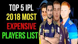 দেখে নিন, আইপিএলে সর্বোচ্চ দামে কেনা ৫ ক্রিকেটারের তালিকা | shakib al hasan ipl 2018