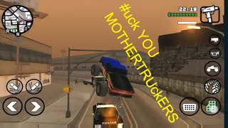gta san andreas android mega mod   this monster truck is on killer streak cj s super muscle riots on