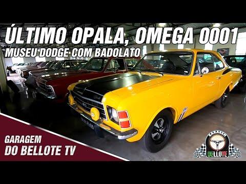 Museu Dodge: Omega 0001, último Opala e os destaques do novo galpão | Garagem Vlog #20