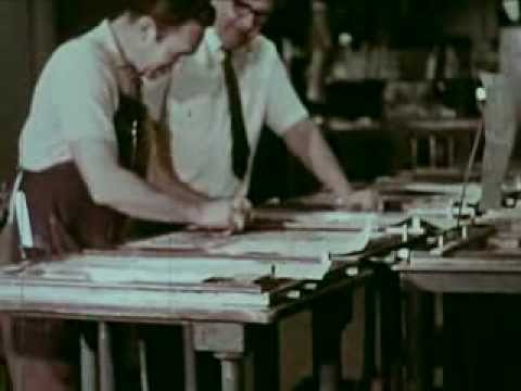 San Jose Mercury News Newspaper: Behind the Scenes - 1970 - CharlieDeanArchives / Archival Footage