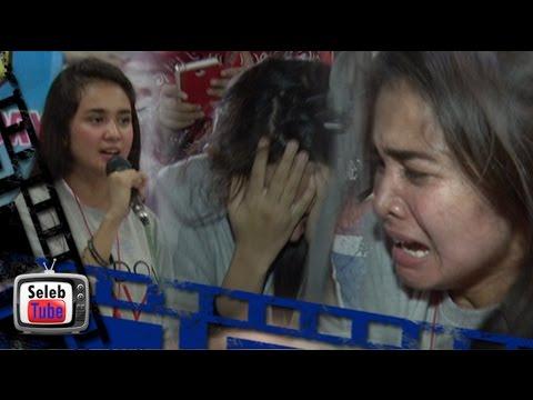 Michelle Ziudith Nangis Histeris Diserbu Fans di Medan