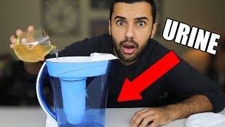 THIS INSTANTLY TURNS ANY LIQUID TO WATER!!!!! (TESTING WEIRD LIQUIDS)