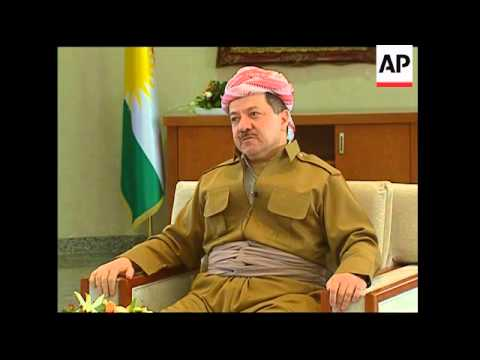 AP interview with Kurdish leader Massoud Barzani