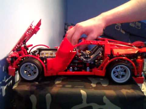 lego technic 8070 supercar youtube. Black Bedroom Furniture Sets. Home Design Ideas