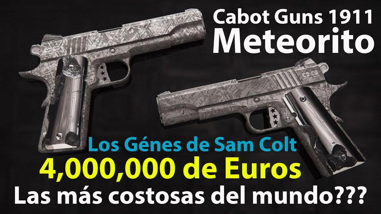 Colt 1911 Meteorite - Cabot 1911 Meteorite - Las Pistolas de Meteorito más caras del mundo???
