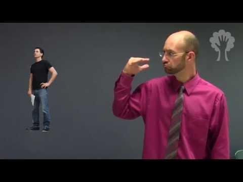 Describing a Person | Example | ASL - American Sign Language