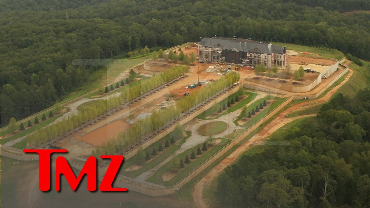 Tyler Perry The Billionaire New Mansion Has A Runway [VIDEO]