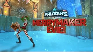 Paladins - New Skin for Evie - Merrymaker