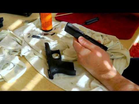HOW TO CLEAN GLOCK 42 W/ DISASSEMBLE & REASSEMBLE
