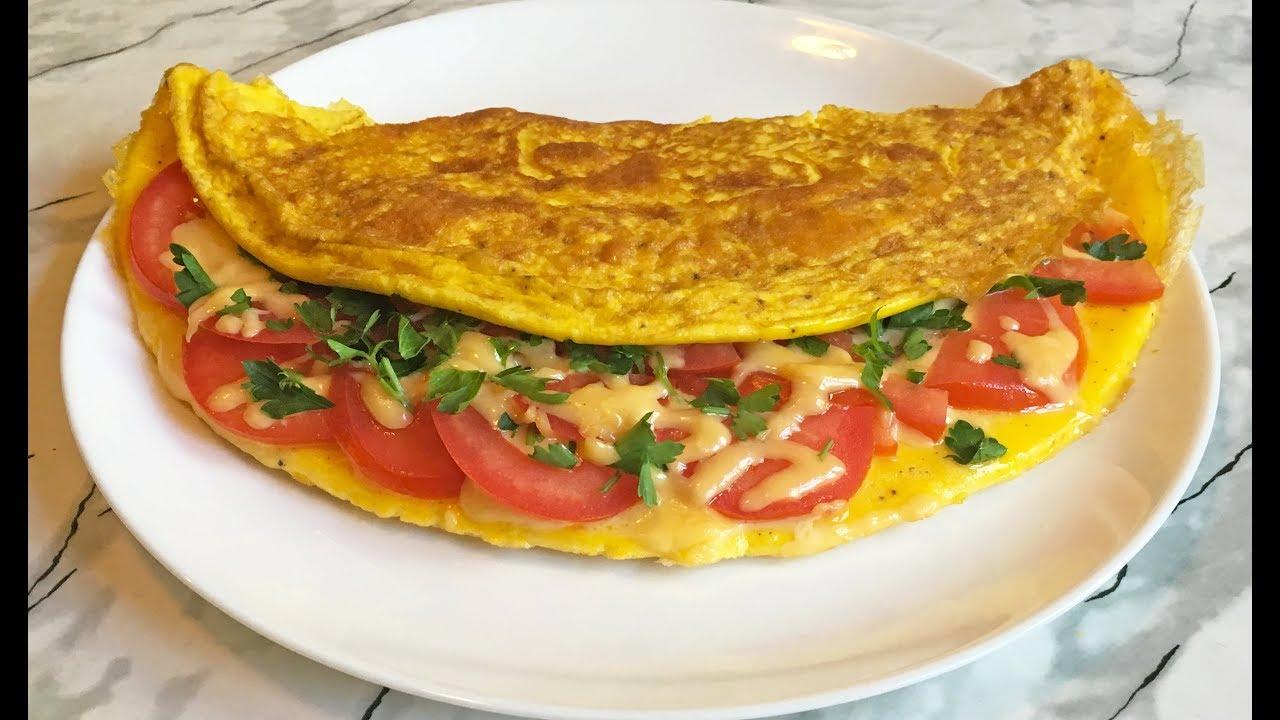 Вкуснейший Омлет с Начинкой / Идеальный Омлет / Perfect Omelette / Быстрый Завтрак / Простой Рецепт