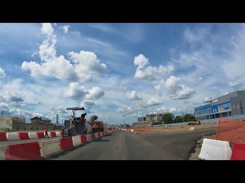 Novosibirsk - Roads - Russia / Новосибирск 4К