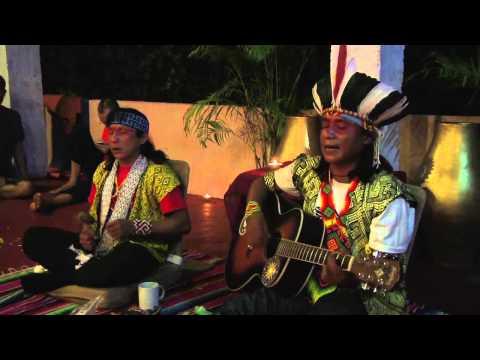 Amazonian Shamanic music -Ninawa Pai Da Mata and Txana Ikakuru. Eskawatã Kayawai.