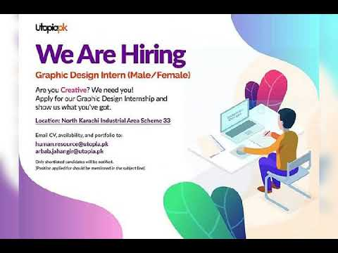 Software Engineer Graphic Design Intern And More Other Jobs In Pakistan Youtube