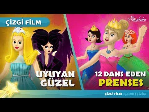 2 Masal | Uyuyan Güzel - 12 Dans Eden Prenses | Adisebaba Masal