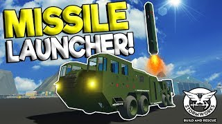SCUD MISSILE LAUNCHER VS SHIP! - Stormworks: Build and Rescue Update Gameplay