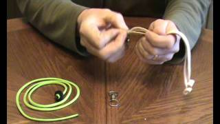 How to use a Sampo swivel for Falconry.wmv