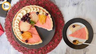 Fruit Custard Tart Recipe By Food Fusion (Eid Special)