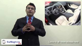 Cars At Auto Expo 2014- DC Tia, 2014 Ford Endeavour, Jaguar F-Type, Range Rover LWB