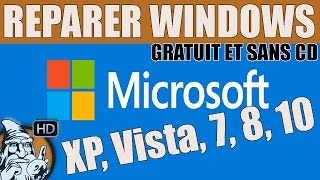 WINDOWS 7 - Réparer Windows - TUTO #42
