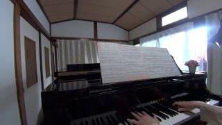 この楽譜は、弾き語りと書いてあるので、練習していましたが、もう ツツ...