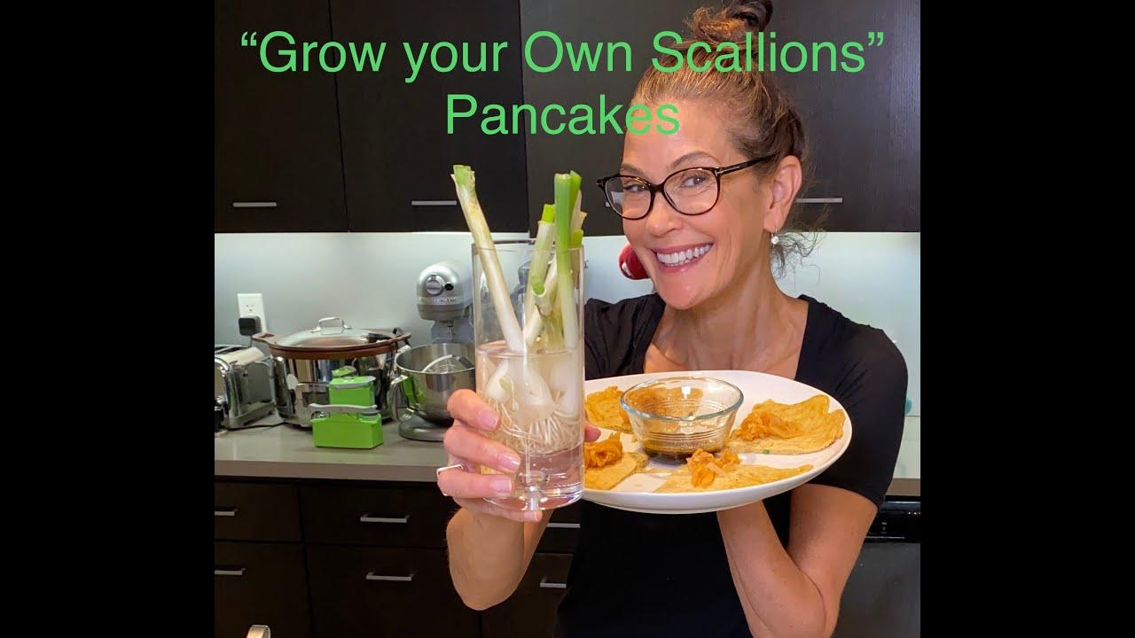 """""""Grow your own scallions"""" Pancake"""