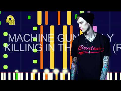 """Machine Gun Kelly – KILLING IN THE NAME (RAGE AGAINST THE…) (PRO MIDI REMAKE) – """"in the style of"""""""