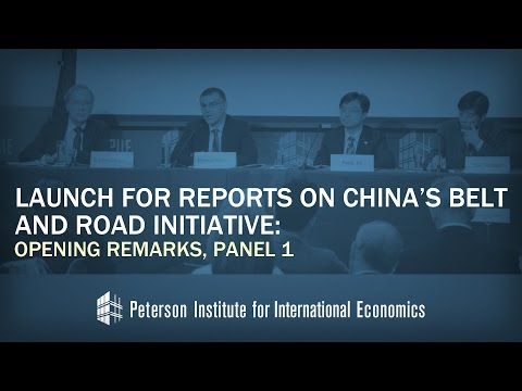 Launch for Reports on China's Belt and Road Initiative: Opening Remarks, Panel 1