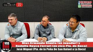 Blas Armando Giunta, Rodolfo Royco Ferrari  y José Miguel